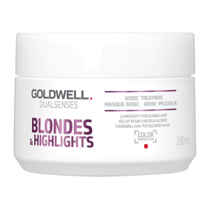 Goldwell Dualsenses Blondes + Highlights 60 Seconds Treatment 200 ml.