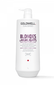 Goldwell Dualsenses Blondes + Highlights Anti-Yellow Shampoo 1000 ml.