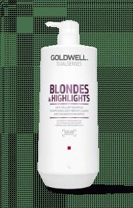 Goldwell Dualsenses Blondes + Highlights Anti-Yellow Shampoo 1000 ml.