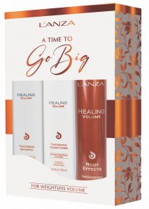 Lanza Healing Volume Shampoo & Conditioner + gratis Root Effects