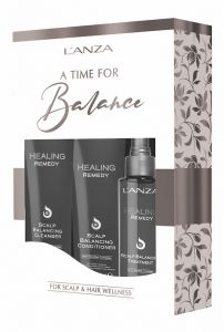 Lanza Healing Remedy Shampoo & Scalp Balancing Treatment + gratis Conditioner