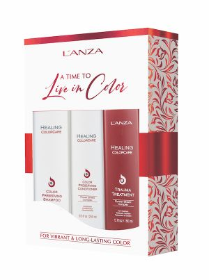 Lanza Healing Colorcare Shampoo & Trauma Treatment + gratis conditioner