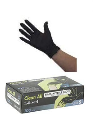 Sibel Clean All Nitril Handschoenen zwart 100 stuks