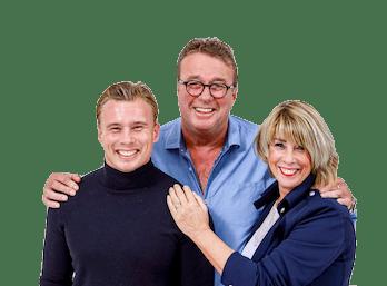 Arold, Petra & Lennard van Haarwereld.nl